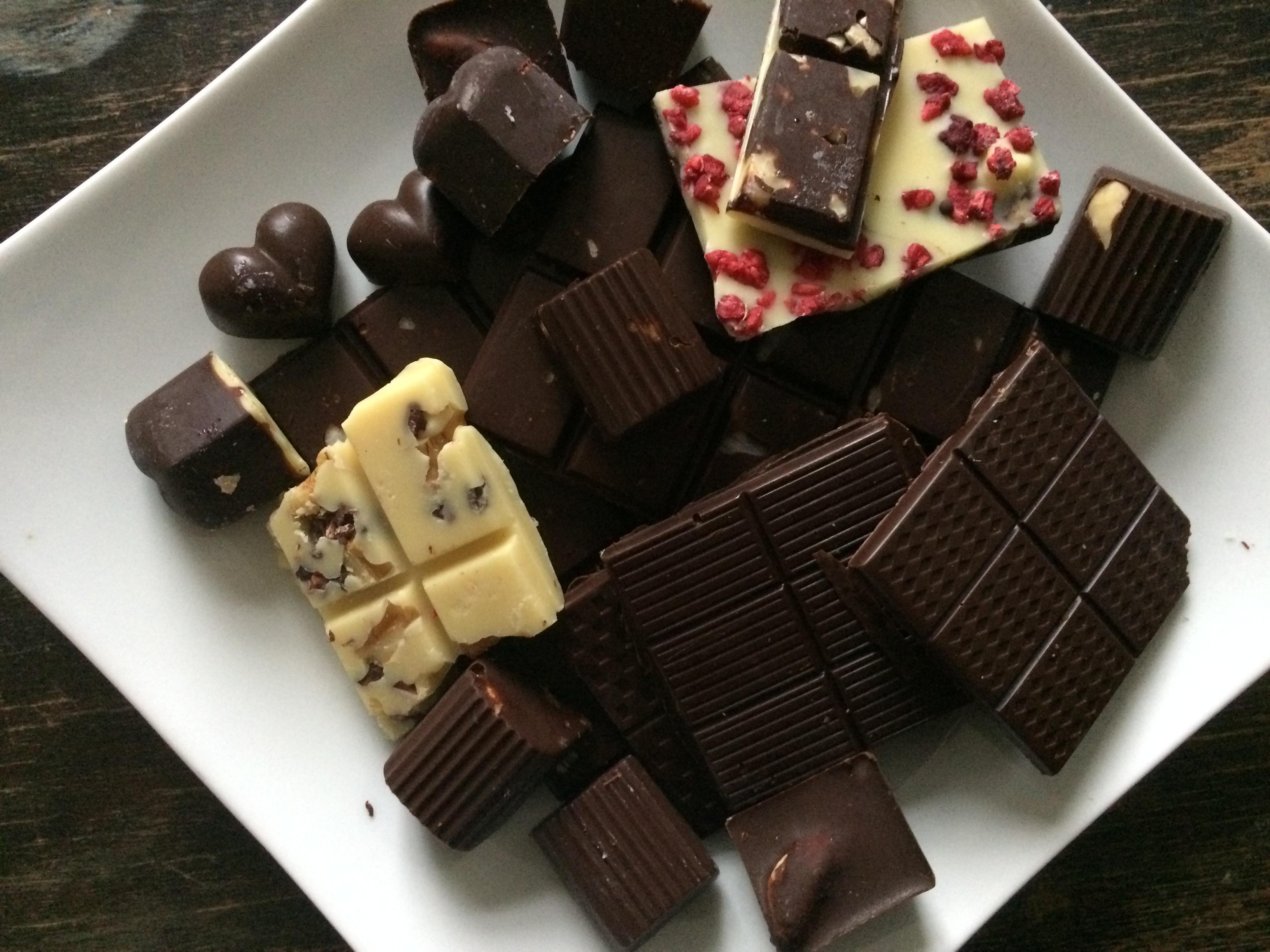 Paleo-Schokolade mit Honig und ohne Gedöns