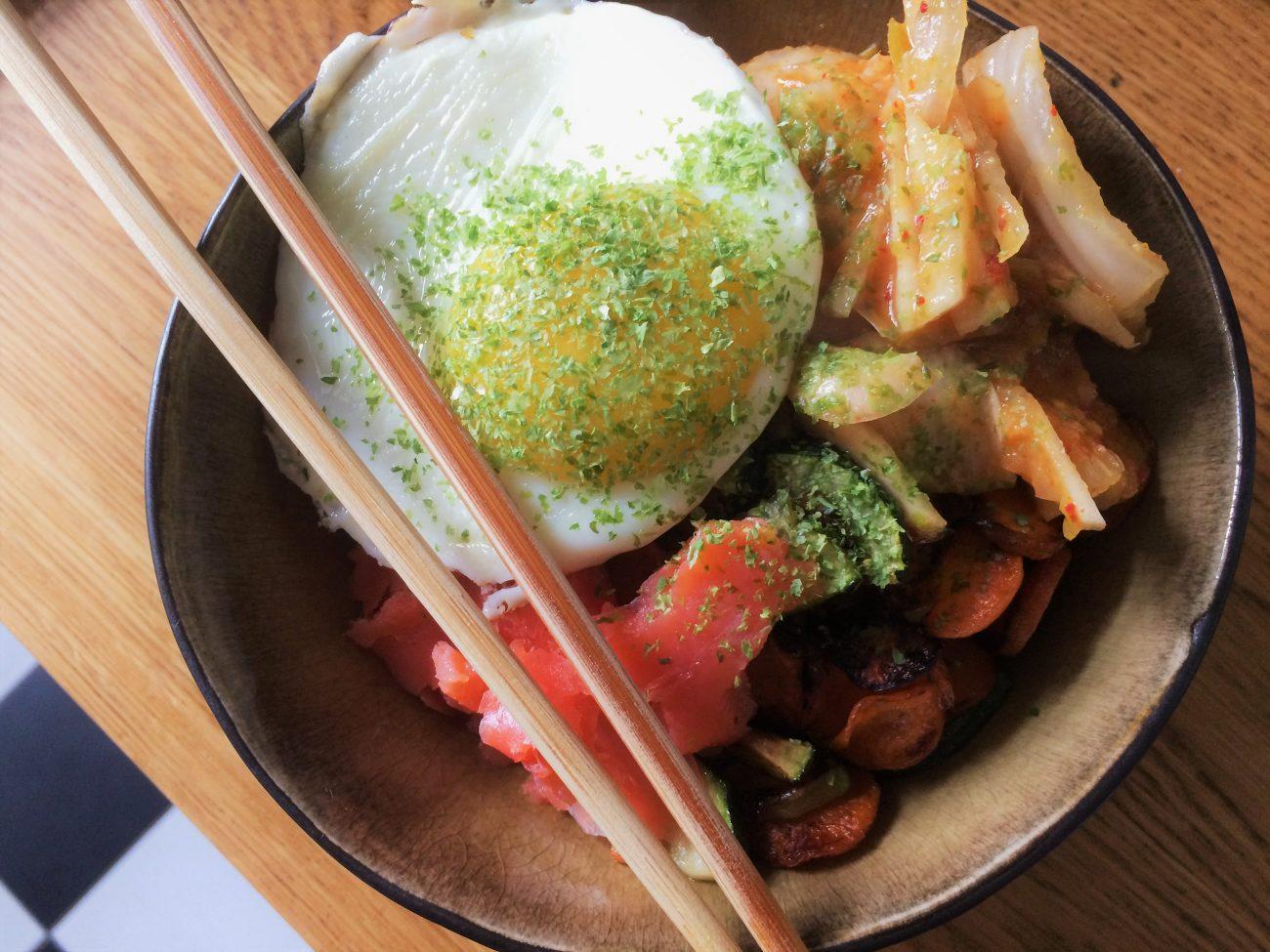 Frühstücksbowl oder Bibimbap?