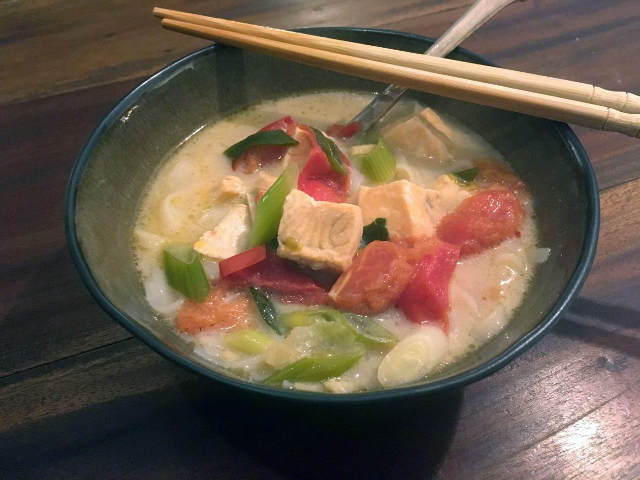 Tom Kha Pla: Fischsuppe mit Zitronengras