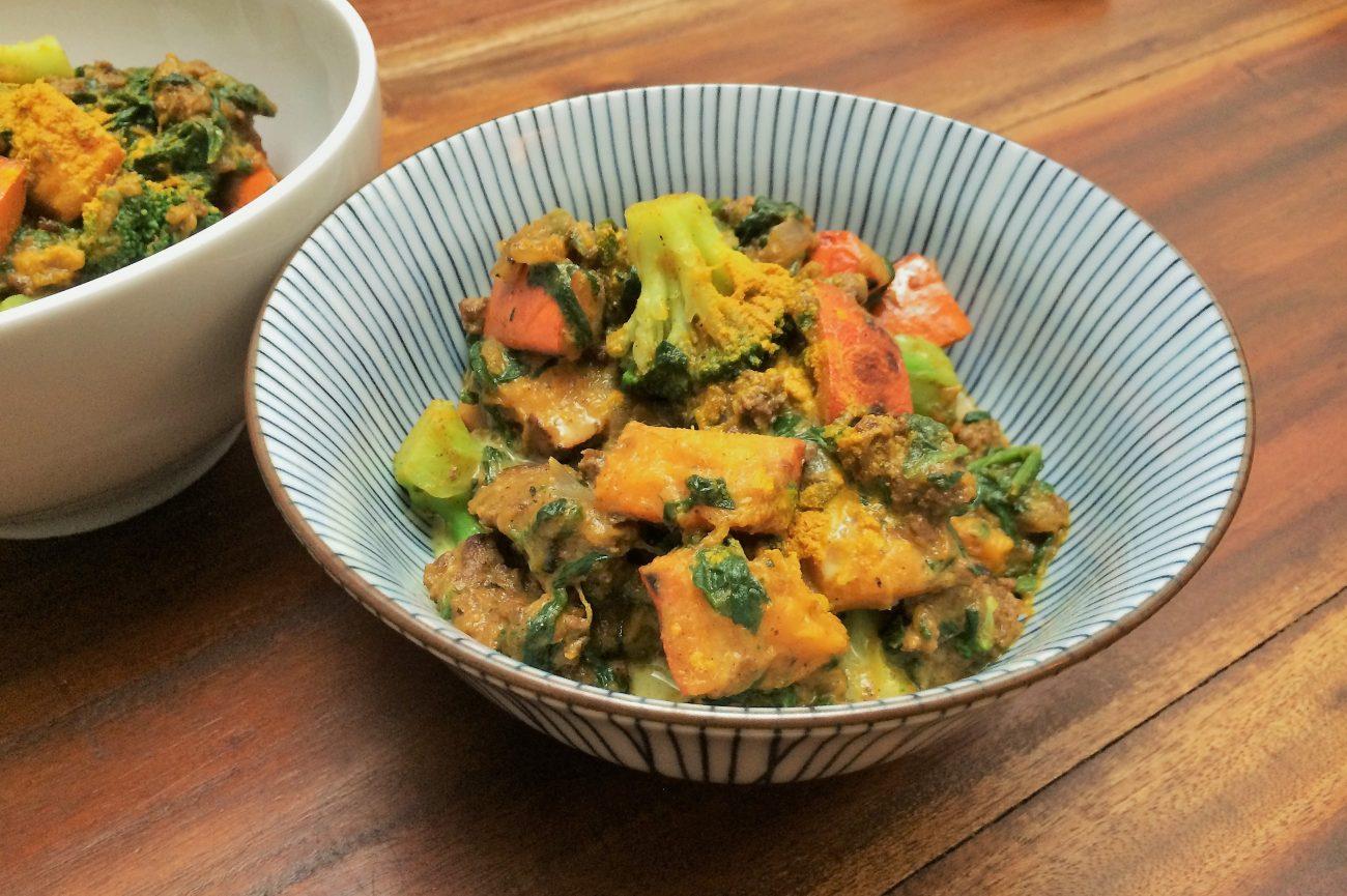 Herbstliches Kürbis Curry