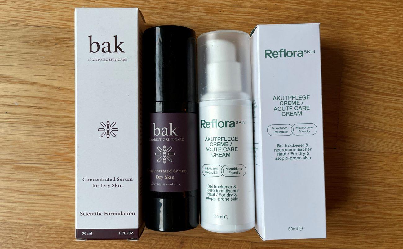 RefloraSKIN und bak probiotic skincare